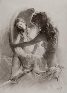 Imagen tomada de la red Pintor y Dibujante: Vicente Romero Redondo, Nació en 1956 (Madrid España)