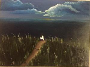 """Pintura """"18 x 24"""" Oleo.  Por: Camila C. Feliciano"""